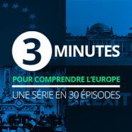 3 minutes pour comprendre l'Europe - pavé