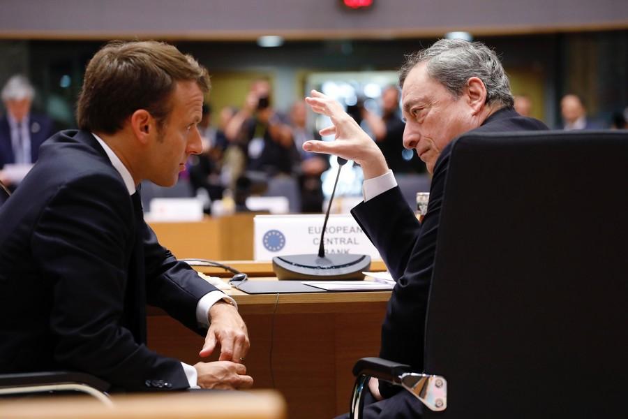 La bonne entente qui règne entre Emmanuel Macron et Mario Draghi a mené la France et l'Italie à résoudre un différend diplomatique vieux de 40 ans - Crédits : Union européenne