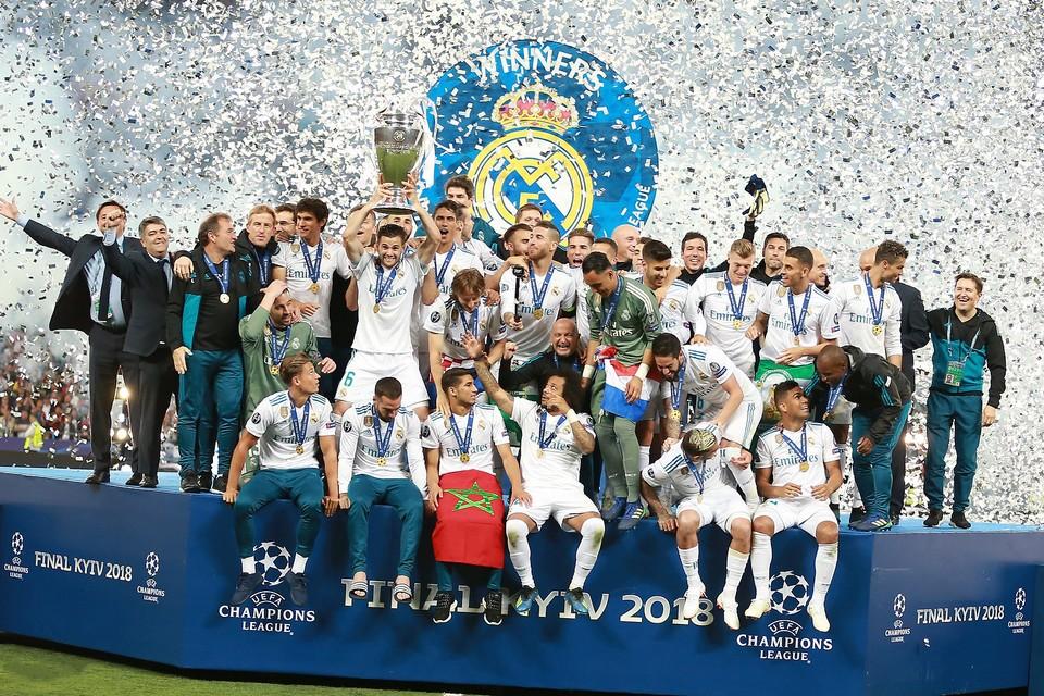 En tant qu'initiateur du projet de Super Ligue, le club espagnol du Real Madrid, vainqueur de la Ligue des champions en 2018, serait exclu de la compétition s'il participait à ce nouveau championnat fermé
