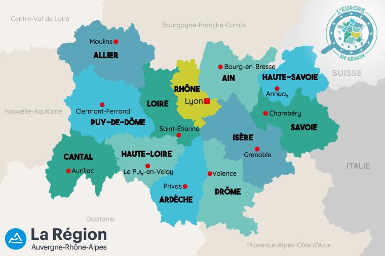 L'Europe en région : Auvergne-Rhône-Alpes