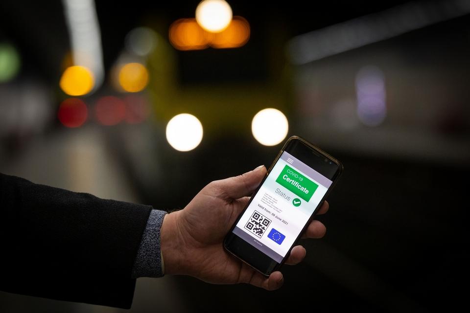 A partir du mois de juin, le certificat vert numérique pourra notamment être utilisé sous format numérique, avec un QR code