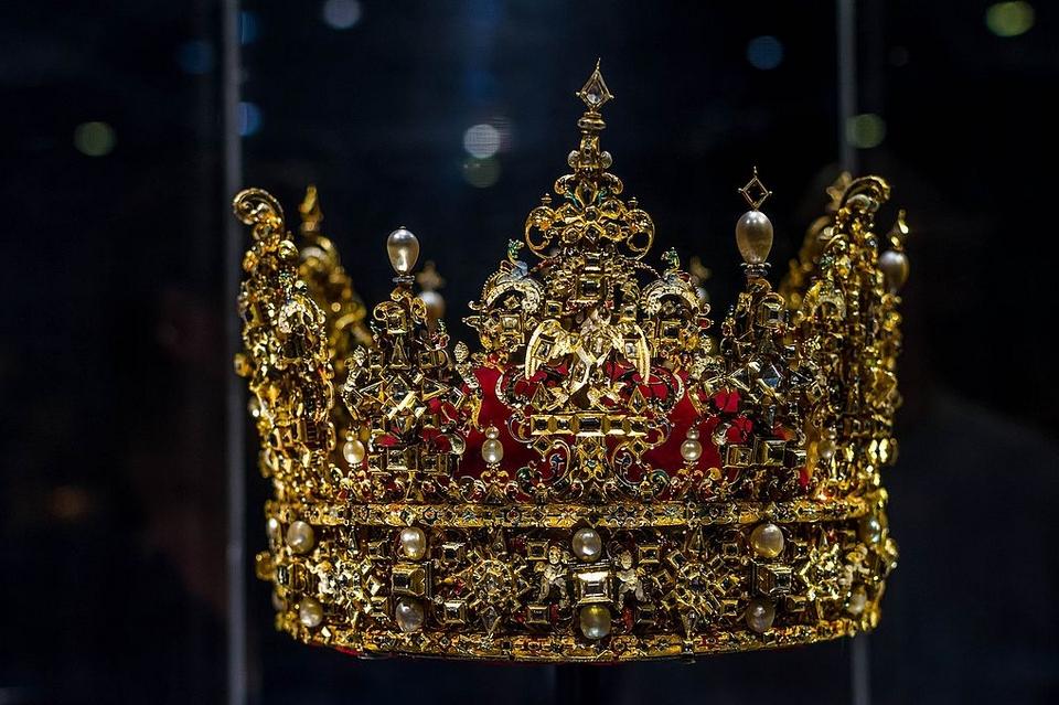 Couronne de Christian IV (1577-1648), roi de Danemark et de Norvège