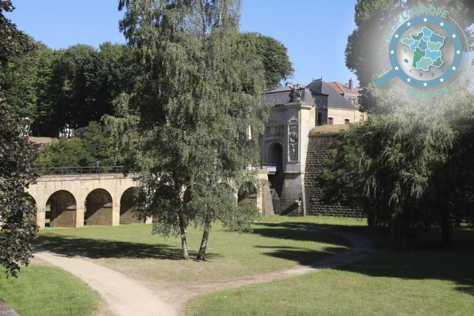 Erigées par Vauban, les fortifications de la ville de Longwy constituent l'une des oeuvres architecturales de la région qui seront mises à l'honneur à l'occasion de la capitale européenne de la culture 2022 - Crédits : P. Bodez / Région Grand Est