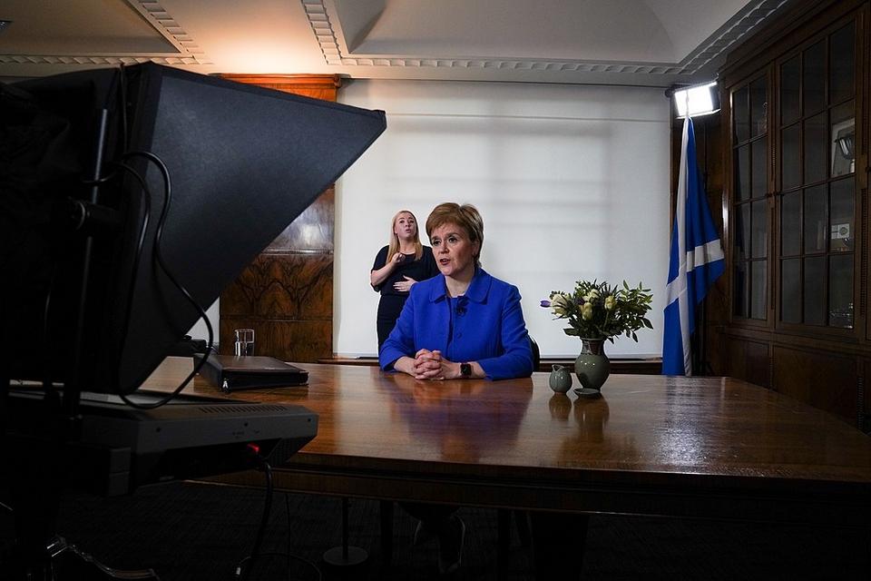 """Nicola Sturgeon est devenue Première ministre après l'échec du """"oui"""" au référendum d'indépendance de 2014"""