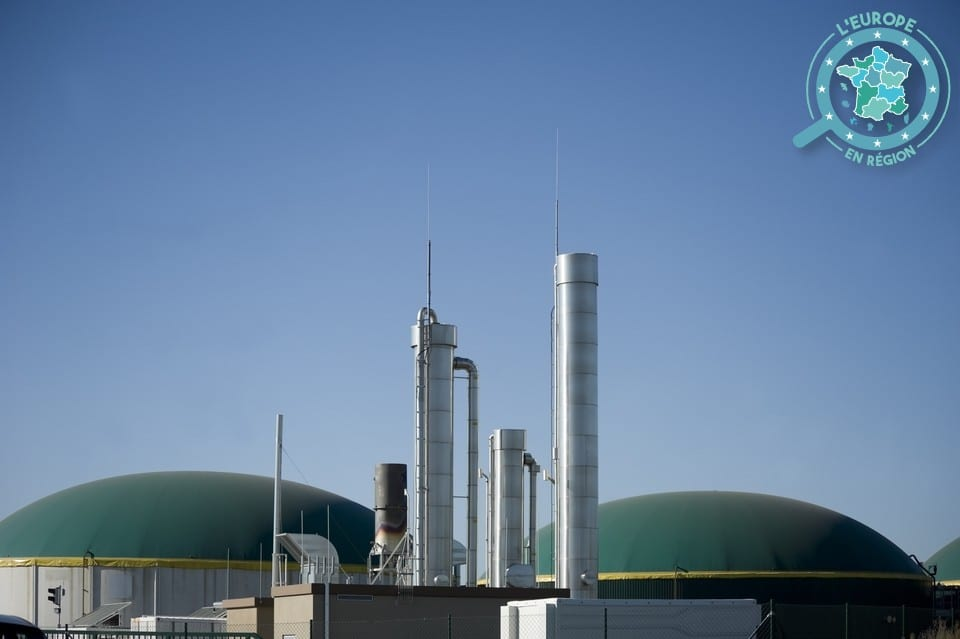 Les unités de méthanisation permettent la production de biogaz