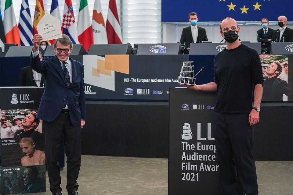 Le Prix LUX du public 2021 a été décerné à L'Affaire Collective d'Alexander Nanau
