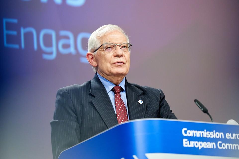 Face aux nombreux litiges qui opposent Bruxelles et Moscou, Josep Borrell appelle à un changement de stratégie dans les relations avec la Russie - Crédits : Claudio Centonze / Union européenne