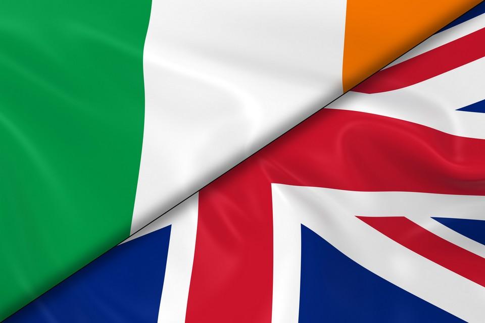 Drapeau Irlande - Royaume-Uni