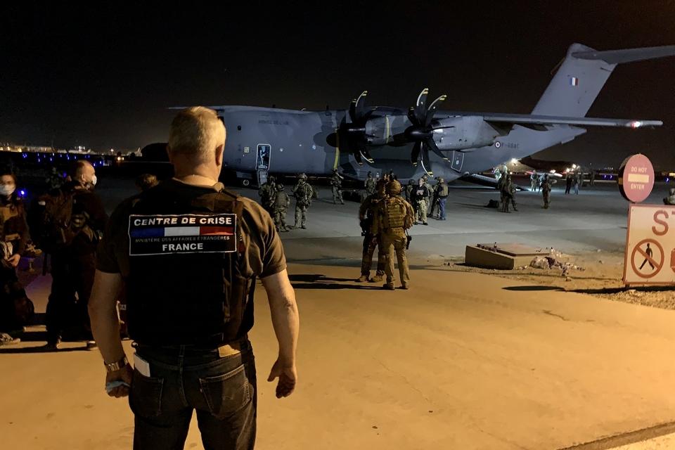 Les opérations d'évacuation qui ont été lancées depuis l'aéroport de Kaboul se poursuivent