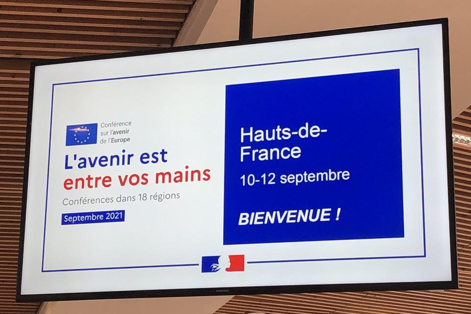 Lille accueillait du 10 au 12 septembre l'une des 18 consultations régionales sur l'avenir de l'Europe