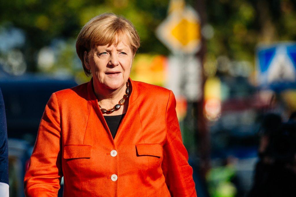 Angela Merkel - Crédits : Arno Mikkor / Flickr EU2017EE Estonian Presidency CC BY 2.0