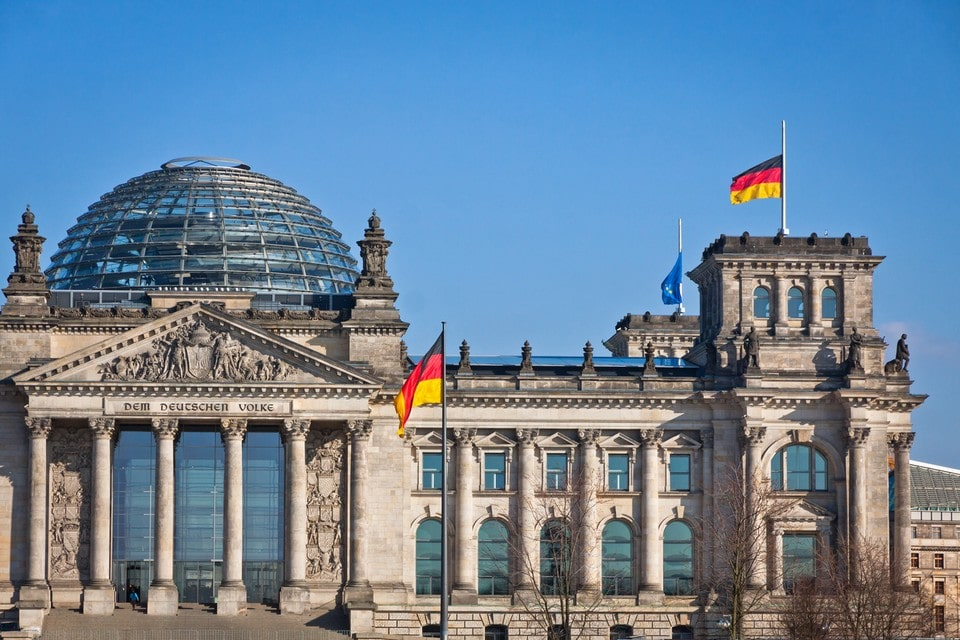 Le siège du Bundestag à Berlin