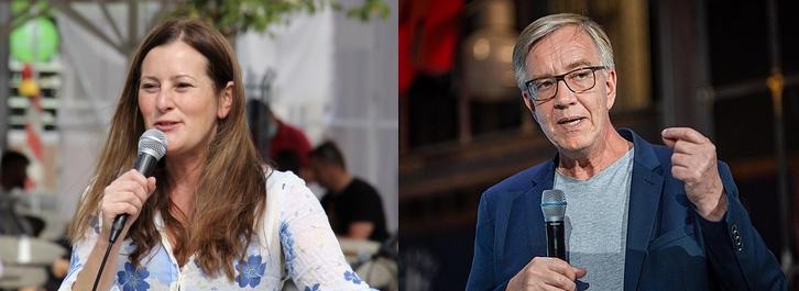 Janine Wissler et Dietmar Bartsch