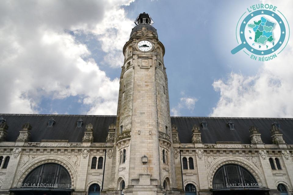 La tour de la gare est inscrite au titre des monuments historiques