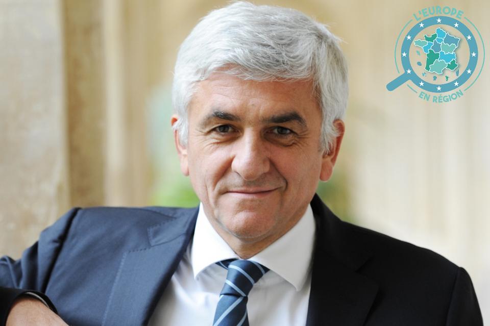 Hervé Morin est le président de la Région Normandie depuis 2016