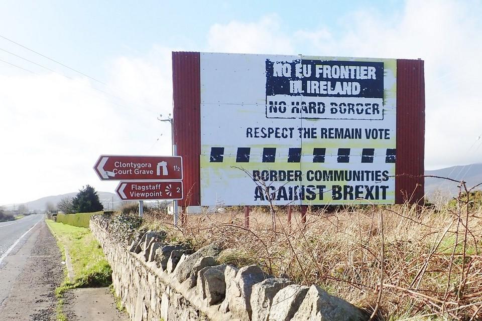 La question nord irlandaise reste l'un des principaux sujets de préoccupation dans les négociations post-Brexit