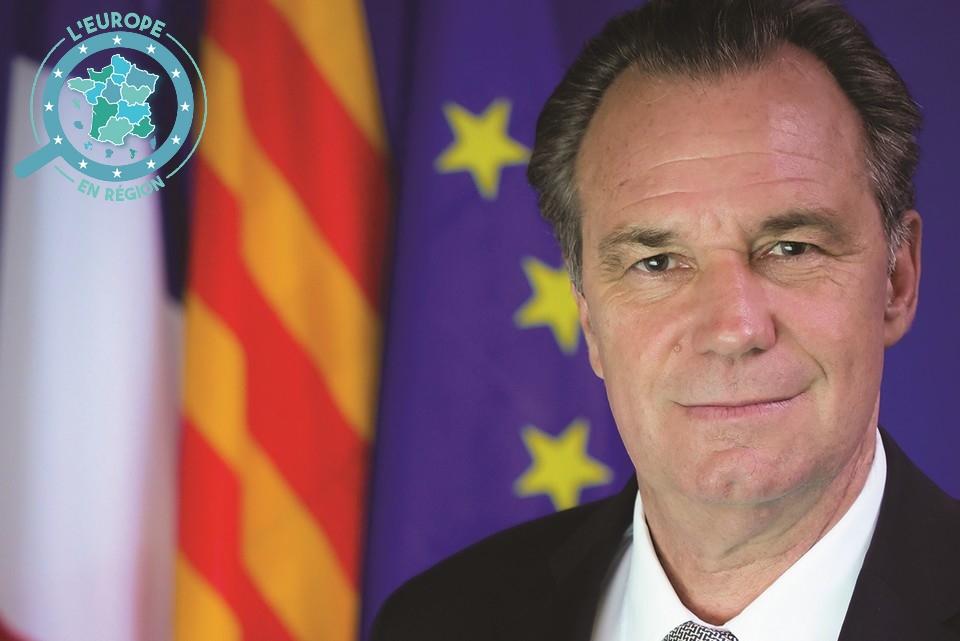 Renaud Muselier est le Président de la Région Sud-Provence-Alpes-Côte d'Azur depuis 2017