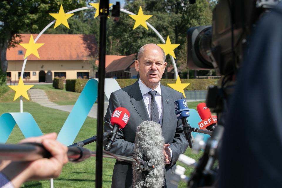 Le ministre des Finances social-démocrate Olaf Scholz est le favori des sondages avant le scrutin du 26 septembre