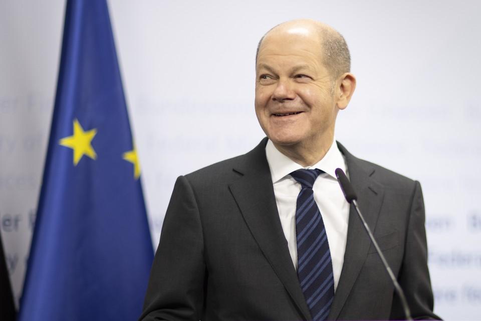 Le candidat du SPD Olaf Scholz pourrait être investit chancelier s'il obtient la majorité des suffrages au Parlement, nécessitant ainsi de passer des alliances.