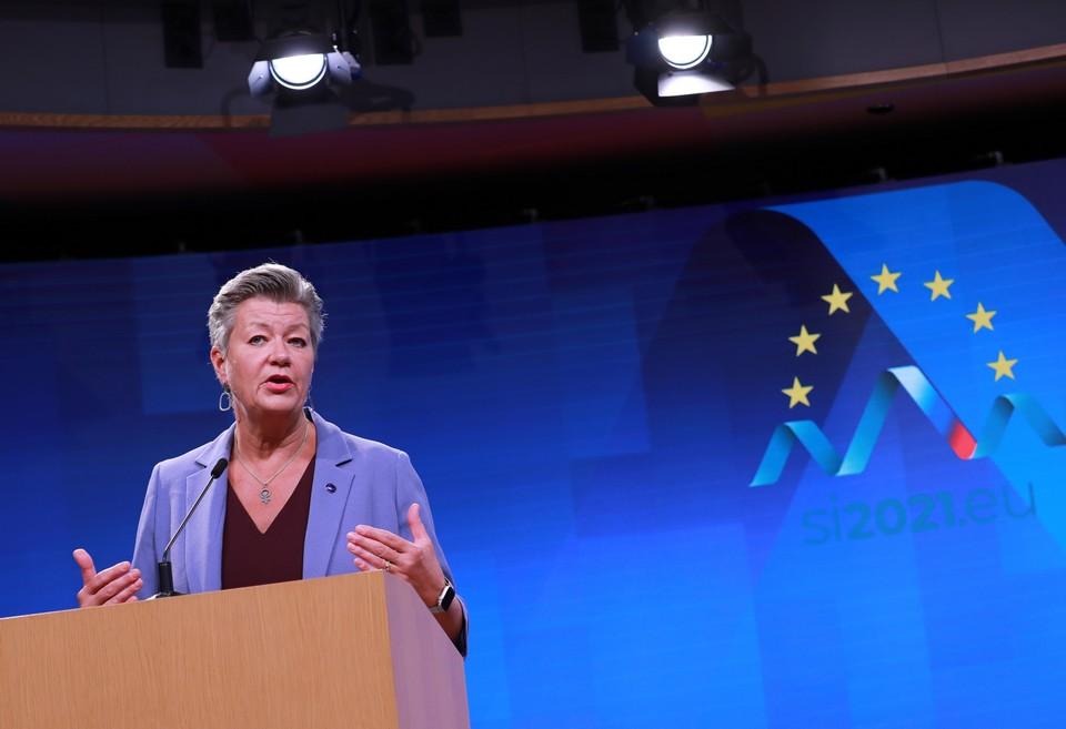 La commissaire Ylva Johansson a souligné l'importance de la coordination européenne dans ce dossier