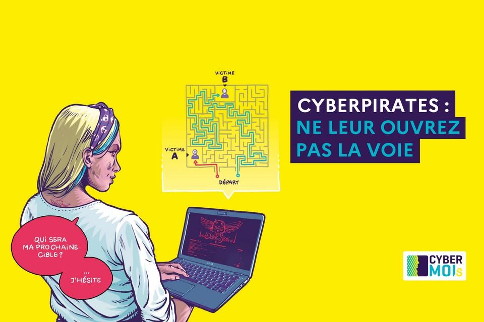 Le jeu a été lancée dans le cadre de l'initiative du CyvberMoi/s