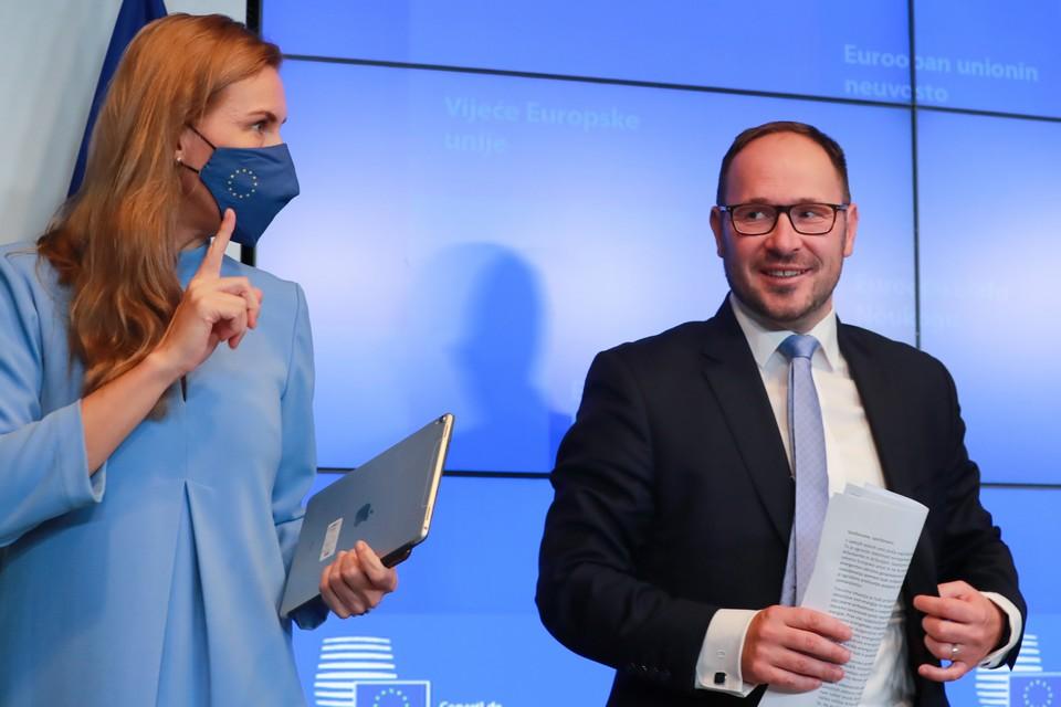 La commissaire européenne à l'énergie, Kadri Simson, et le ministre slovène des infrastructures, Jernej Vrtovec ont fait état de l'absence de position commune des européens