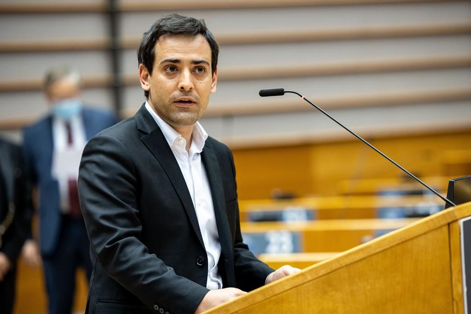 Stéphane Séjourné, chef de file de Renew Europe au Parlement européen