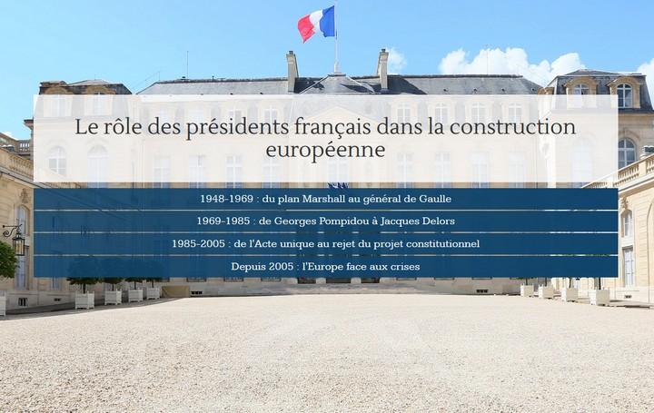 Grand format : le rôle des présidents français dans la construction européenne